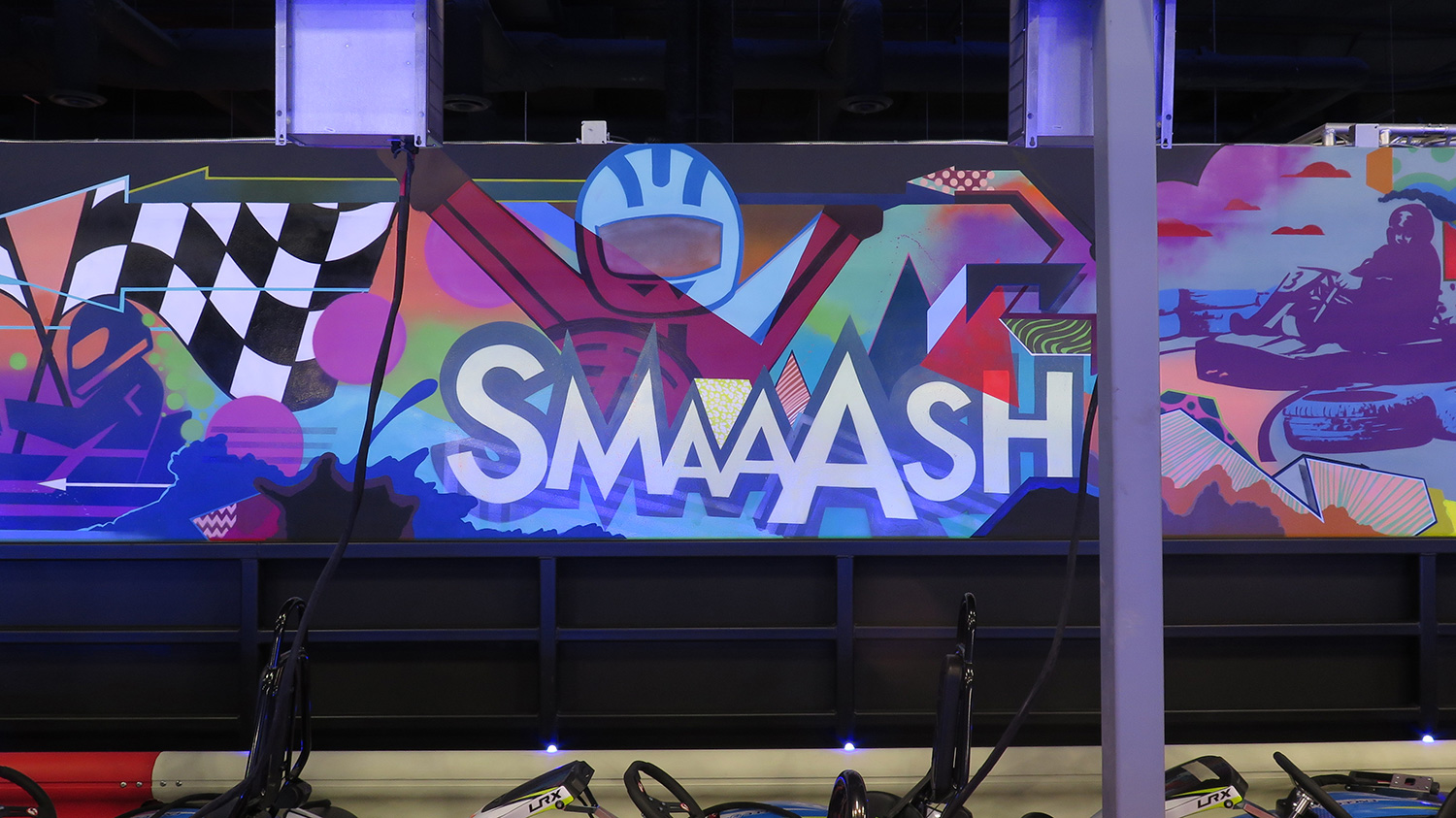 Minnesota Street Artist for Smaaash Venue