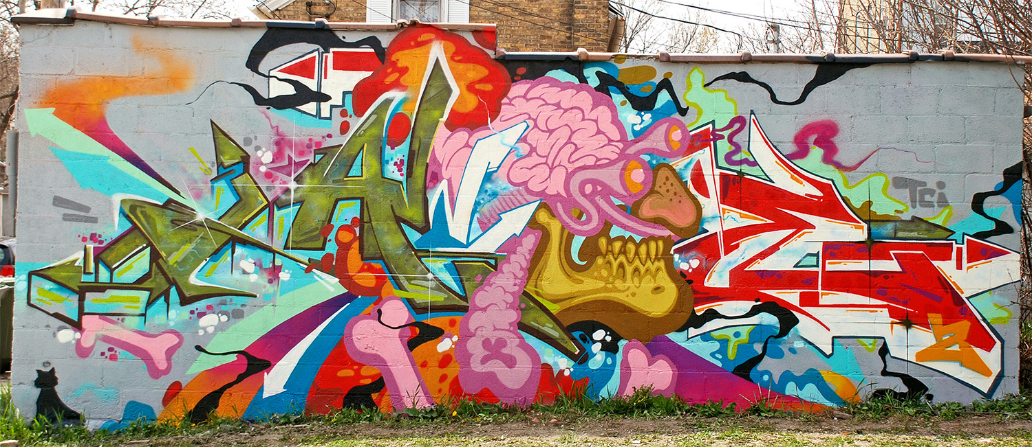 Graffiti wall atlanta - Atlanta Graffiti Artist For Hire
