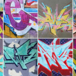 Examples of Graffiti Lettering by Atlanta Artist