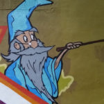 Atlanta Street Artist for Hire - Wizard Character