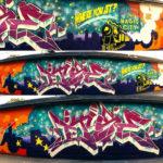 Alabama Graffiti Artist for Boost Mobile Project