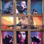 Birmingham AL Street Artist - Musician Murals