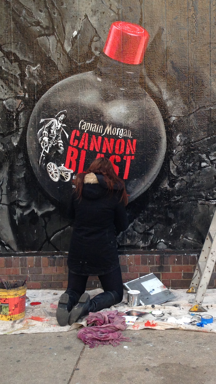 Birmingham al graffiti artist for hire