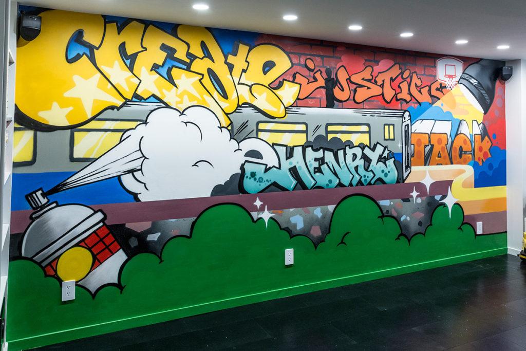 Interior Design Mural