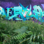 Merlot Graffiti Lettering in Chicago