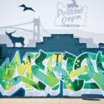 Merlot Wild Style Graffiti Art