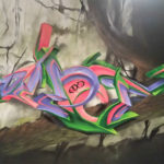 Houston Texas Graffiti Letters by Pilot
