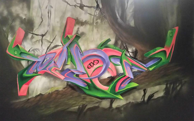 Graffiti art designs - Houston Graffiti Artist For Hire