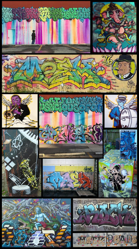 New Orleans Street Artist for Hire