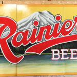 Rainier Beer Sign in Seattle, WA