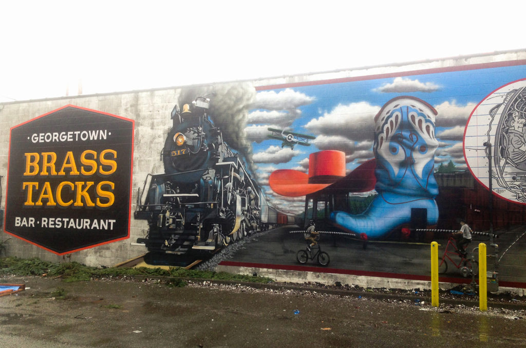 Georgetown, Seattle Mural Train