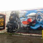 Georgetown, Seattle Mural Train