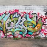Graffiti Lettering and Images in Denver, CO
