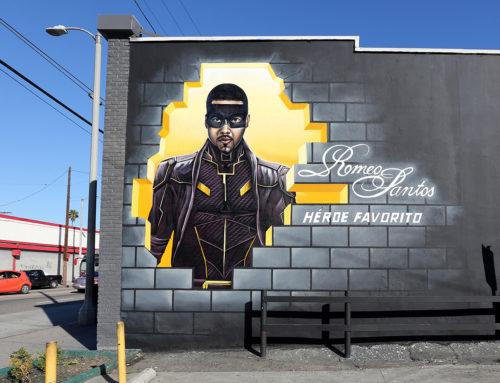 Romeo Santos Street Art Murals in LA, Houston & Miami