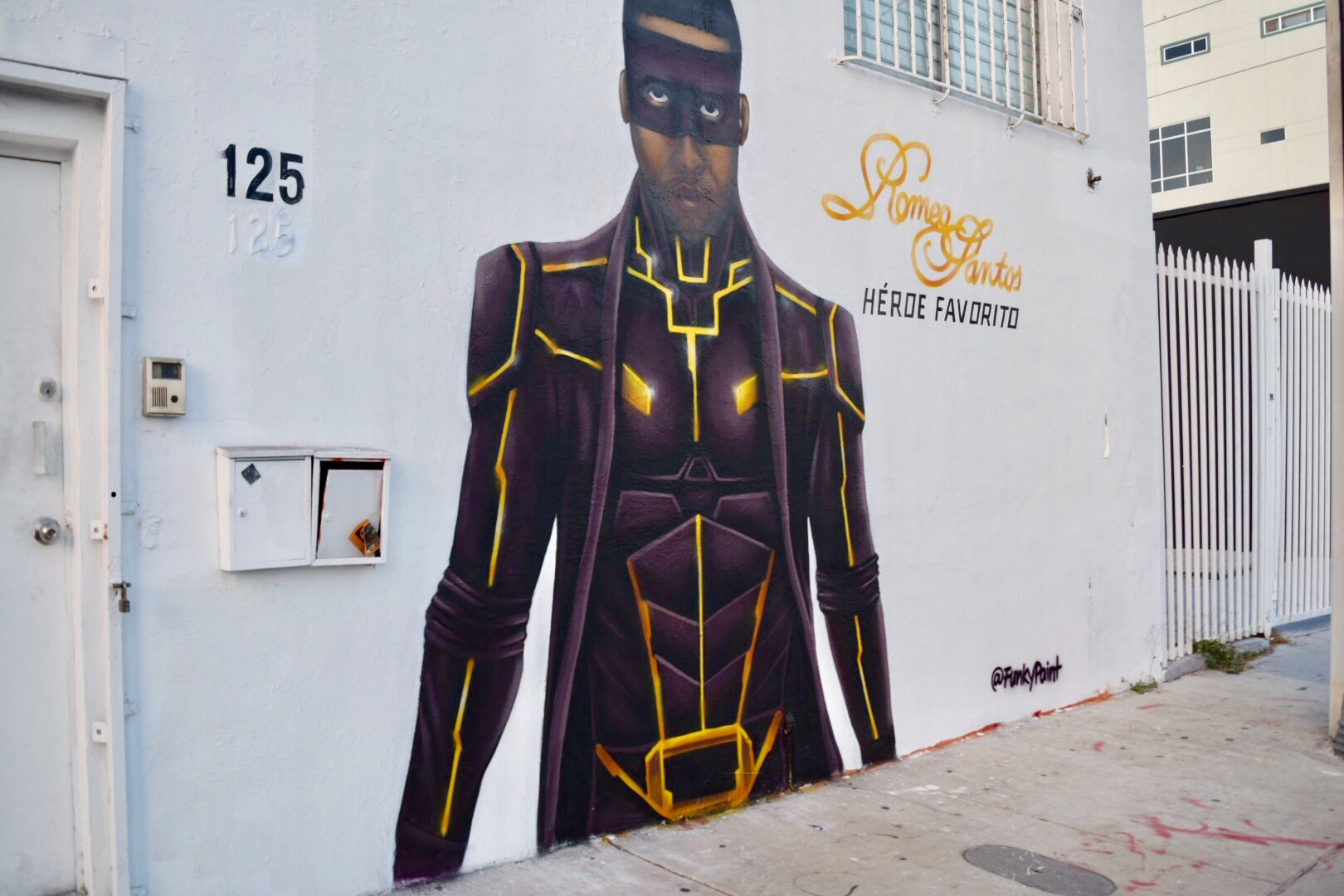 Sony Latin Mural - Romeo Santos