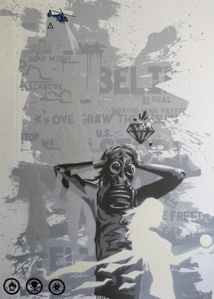 Ntel Graffiti & Street Art Murals