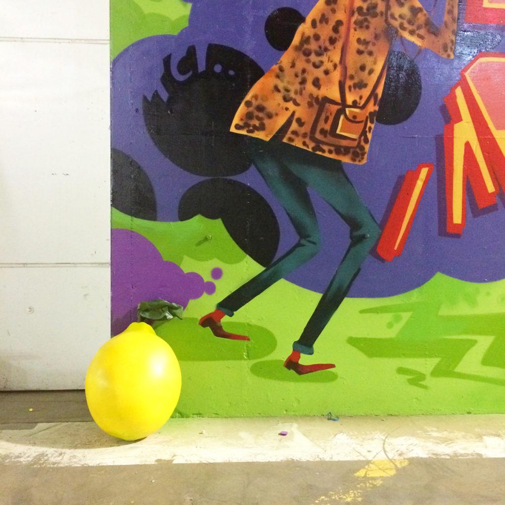 Sean Waters Lemon Art