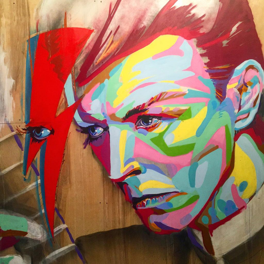 Bowie Street Art