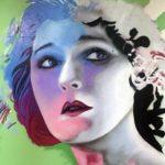 Graffiti Portrait by Winship