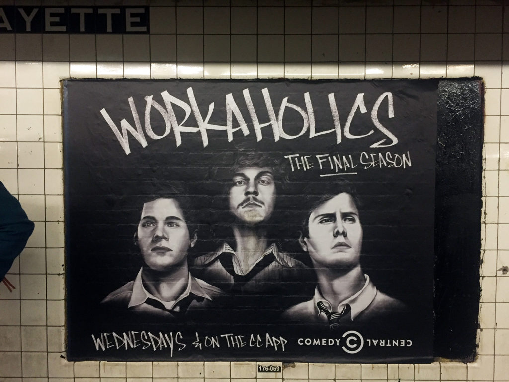 Subway Mural Poster in NYC