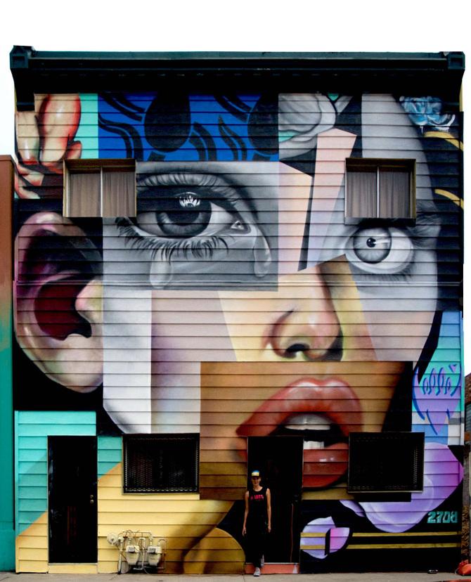 Elle Denver Mural Art