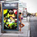 Elle Bus Stop Ad