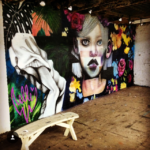 Elle Street Art Mural