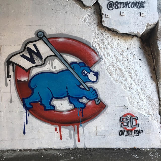 Bears Logo Graffiti