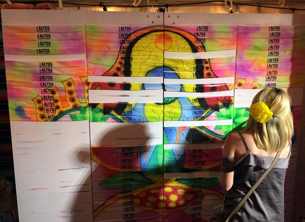 Art Giveaway Ideas in Ausitn on Bandanas