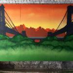 LES Graffiti Canvas