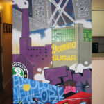 Brooklyn Graffiti Canvas