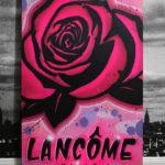 Lancome Rose Graffiti Canvas
