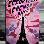 Efortless French Chic Graffiti Canvas