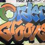 Order Groove Graffiti Canvas