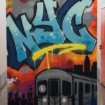 NYC Graffiti Canvas