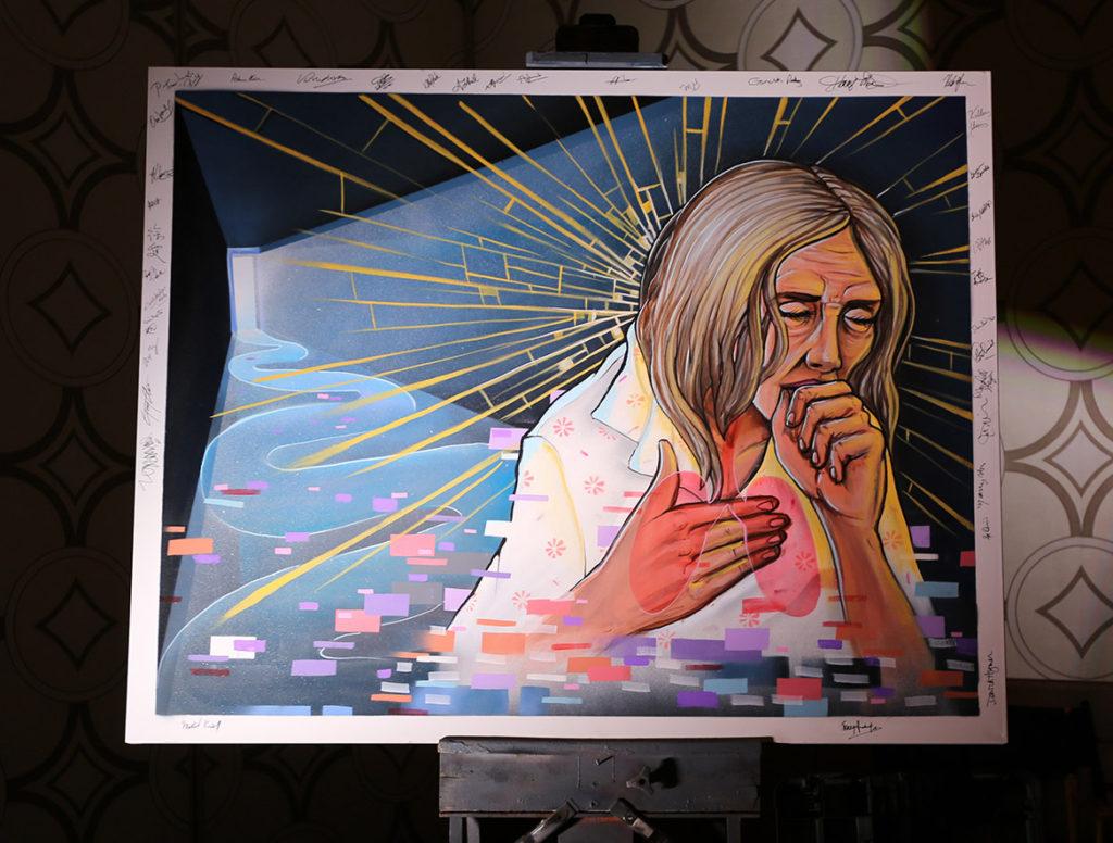 Live Art Canvas