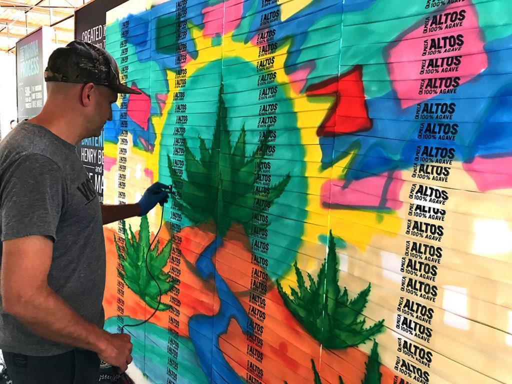 Art Giveaway Ideas in LA on Bandanas