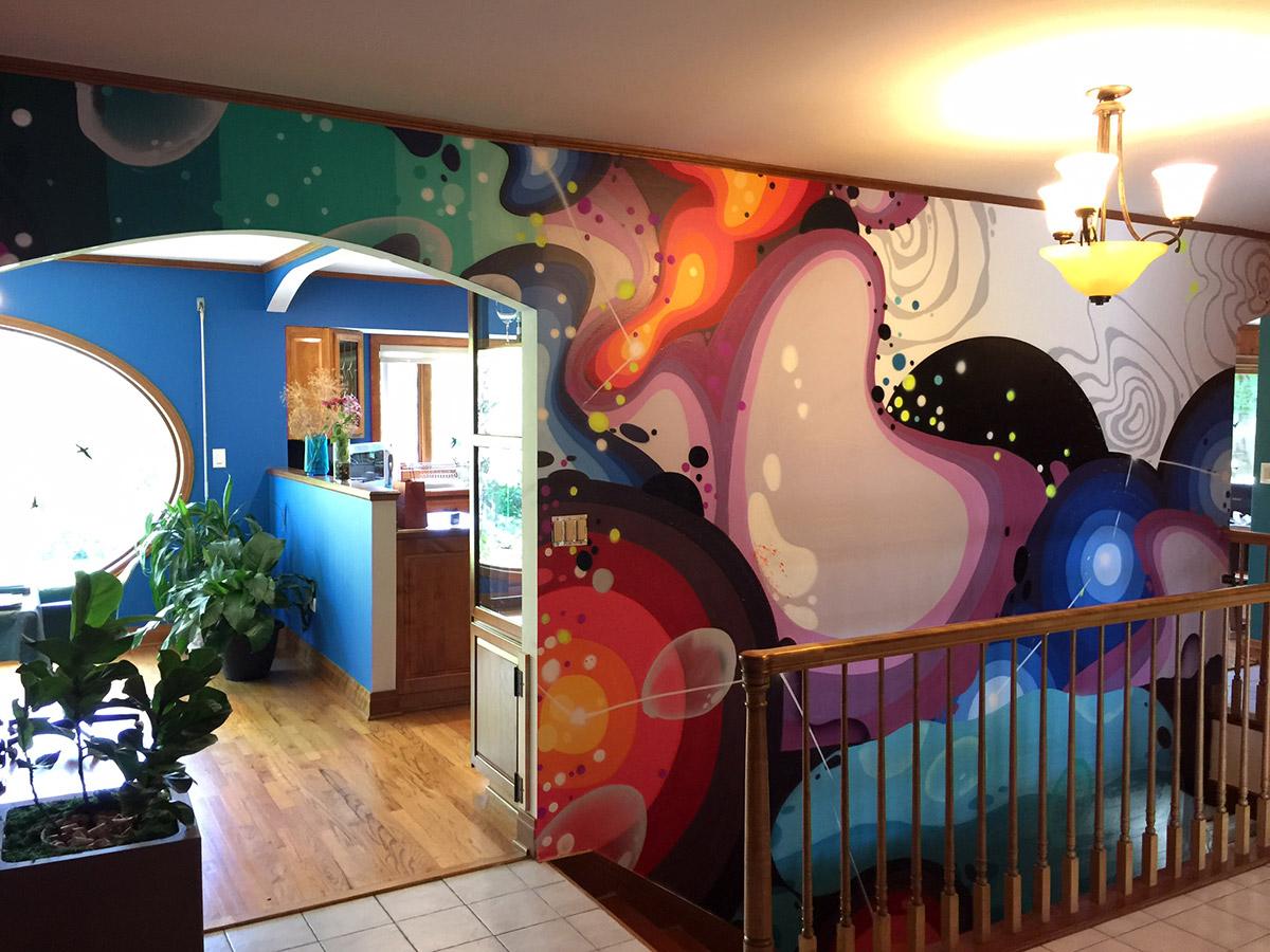 Residential Graffiti Art In Naperville IL