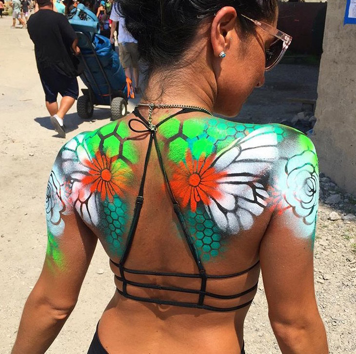 Live Body Painting - Body Art