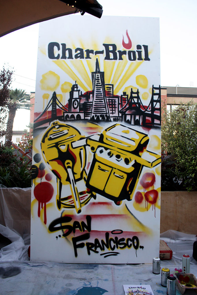 Char Broil SF Completed Canvas