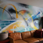 Living Room Graffiti