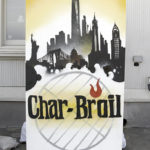 NYC Char Broil Graffiti Canvas