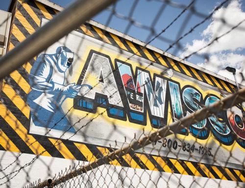AWISCO Exterior Mural in Queens, NY