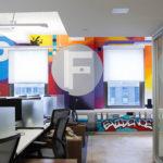 Office Mural in New York City