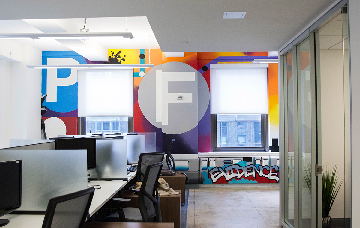 Office Mural in New York City
