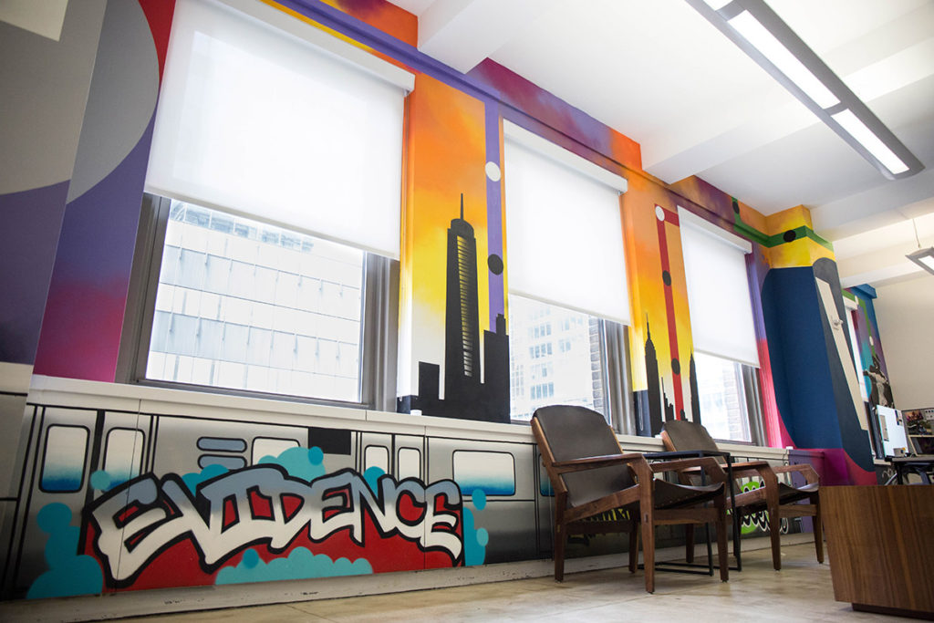 Office Graffiti Mural Artists for Hire