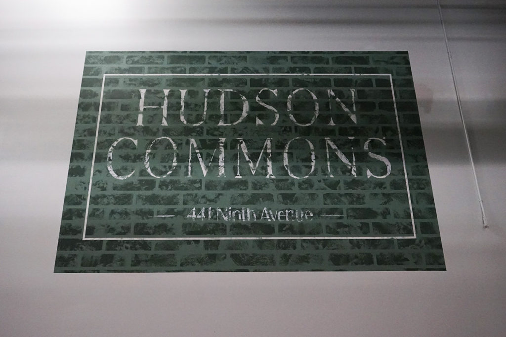 Hudson Commons Tile Mural