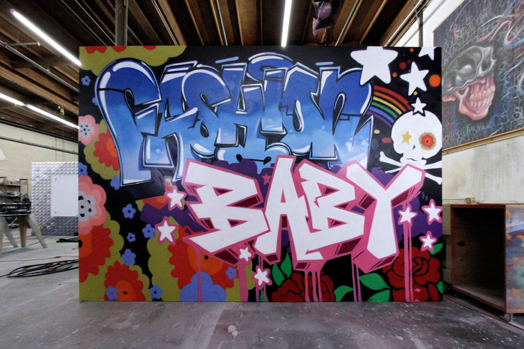 LA Mural - UGG Fashion Baby