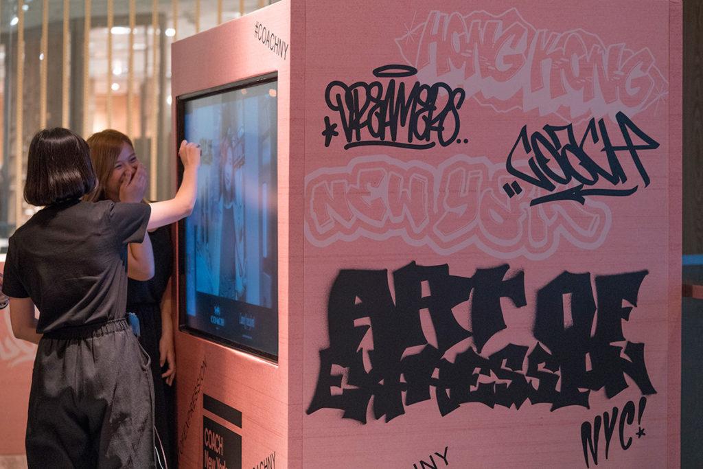 Coach NY Express Graffiti