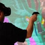 Live Graffiti Art in VR